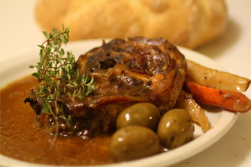 Neck of Lamb with Lemon & Thyme